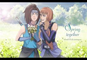 Spring together