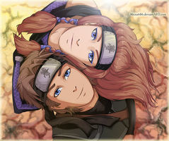 Akina and Hitoshi