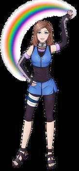 Akina for Naruto OC challenge