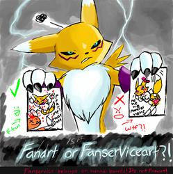 Fanart or Fanserviceart? by Renatwo