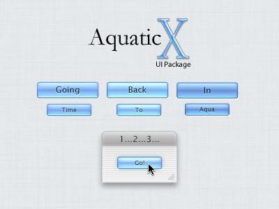 Aqua UI