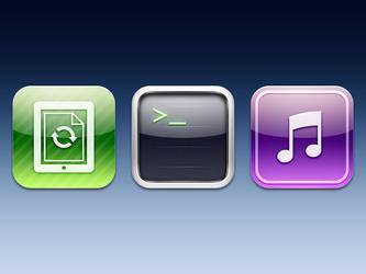 iOS Icons by elischiff