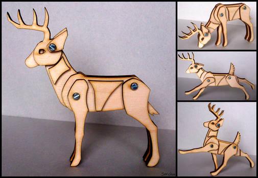 Medium deer