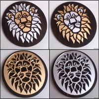 Mirror lions