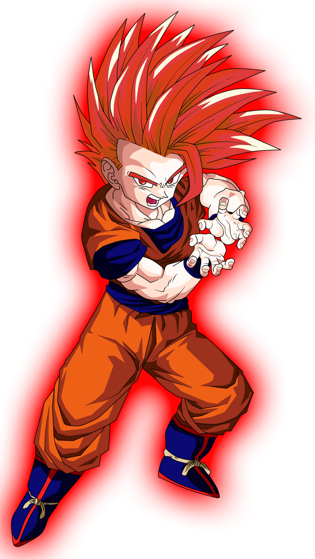 Super Saiyan God Teen Gohan by CardMaster101 on DeviantArt