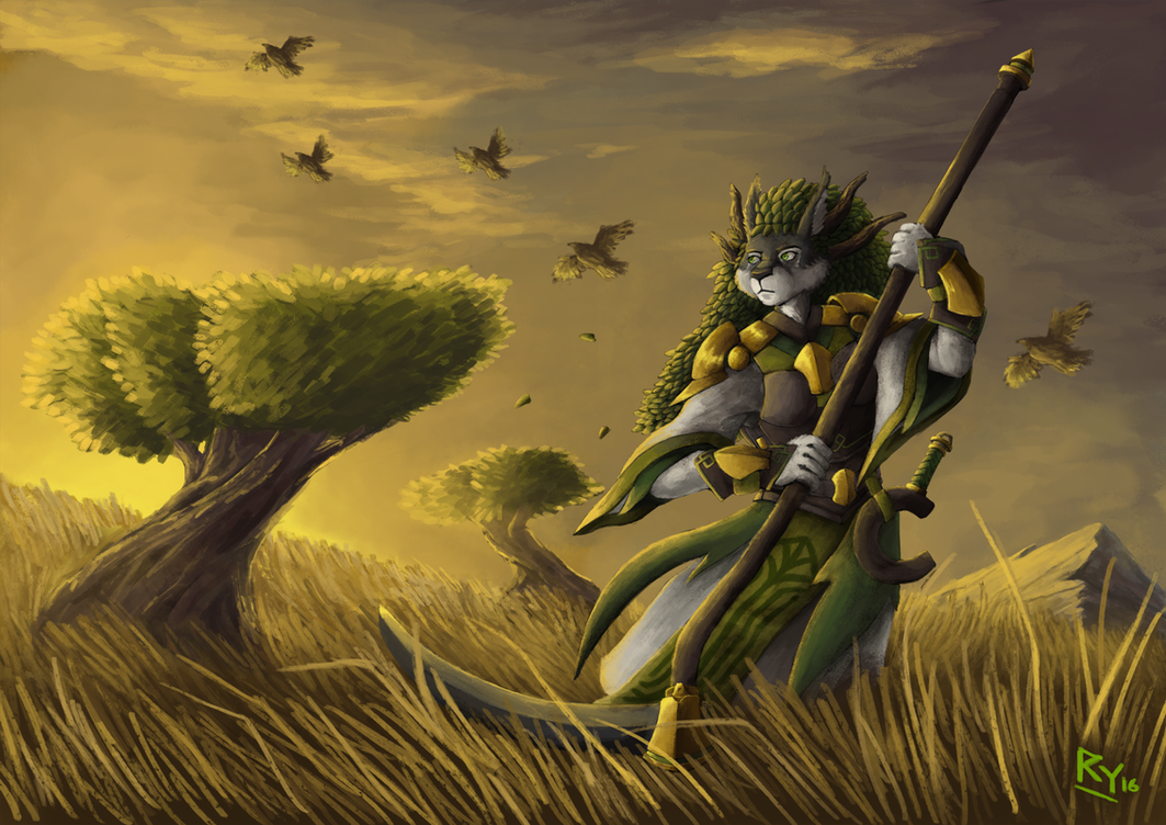 Mandragora, Mother of the Harvest by ApathyHouseArt