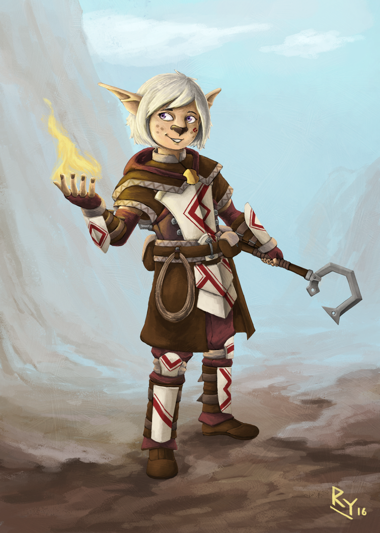 Kurava, Sorun's Disciple by ApathyHouseArt