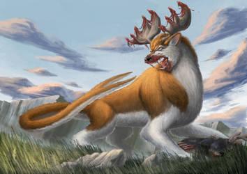 Predator Kirin by ApathyHouseArt