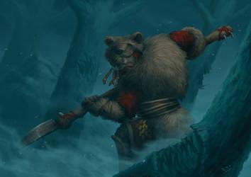 Bear Clan Wildwalker by ApathyHouseArt