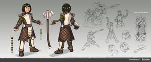 Rowan - Character Sheet