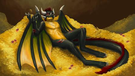 Commission - The Dragon's Hoard (Skin Alt)