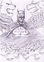 Batman sketch by Tres-Iques