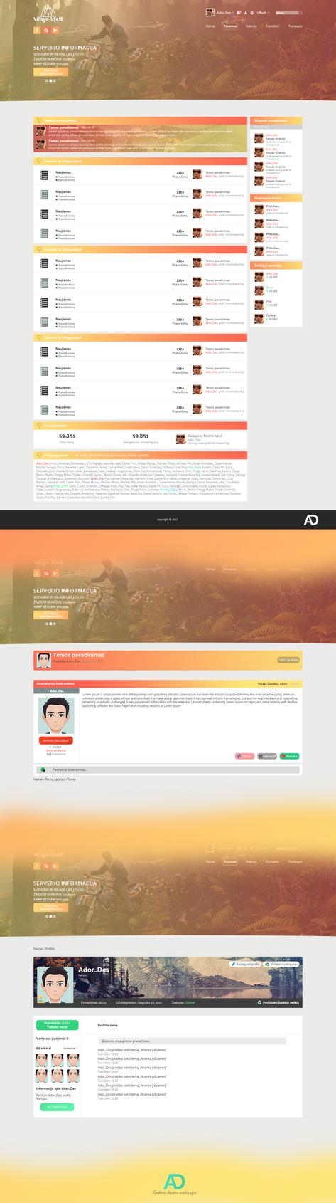 Gta-Samp-ips-web-design by Adordesign