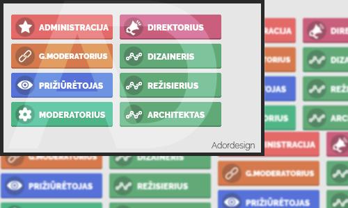 Forum-ranks by Adordesign