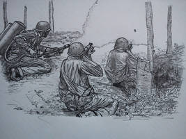 Marines sketch by NOBEEFJERKY