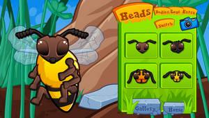 Bug Dress Up Game