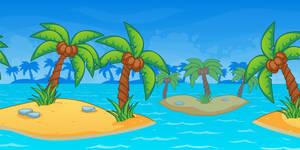 Beach Themed Background