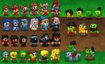 Tiny Fantasy Characters