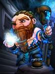 Blue Dwarf Card