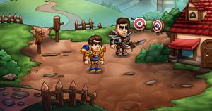 2D Heroes Unity Asset Pack