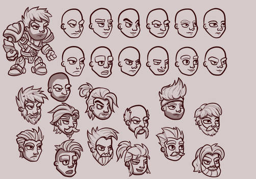 Male Character Concepts
