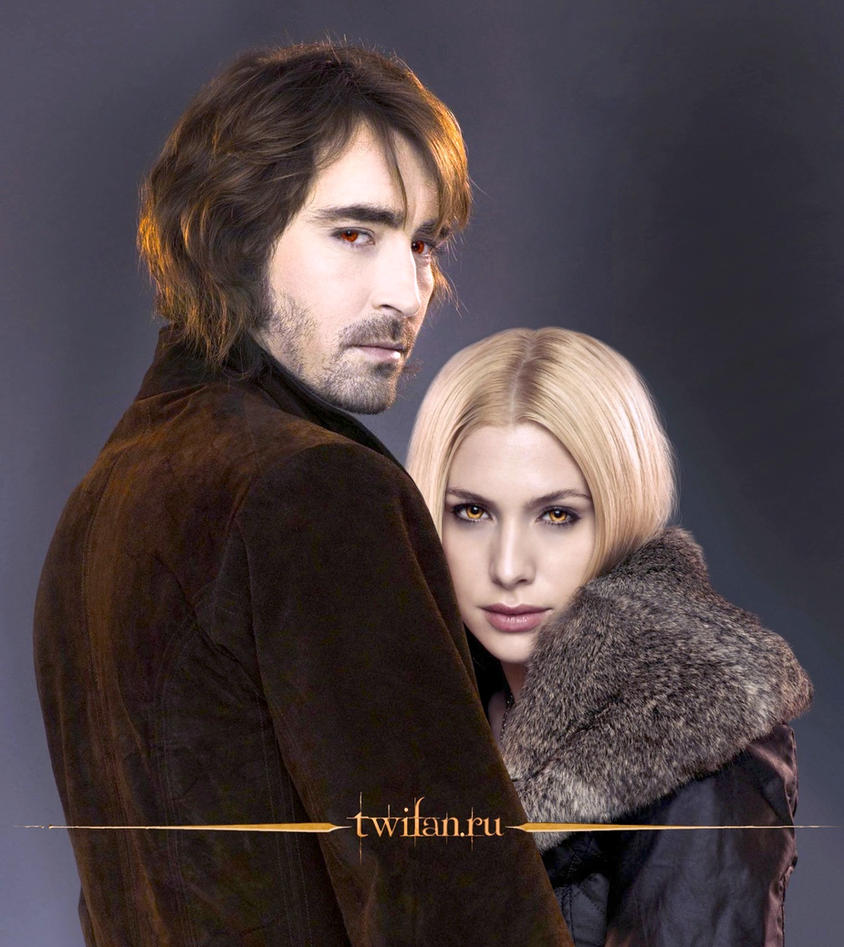 Kate and Garrett from Twilight Denali coven by msBentley