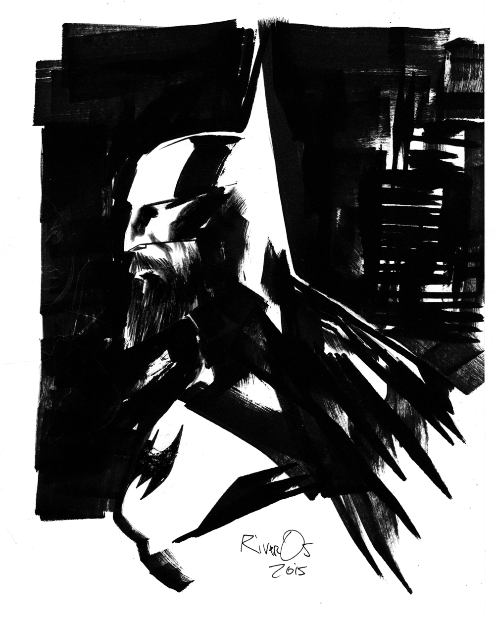 BATMAN DARK KNIGHT by Millus