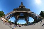 Eiffel Tower Fisheye