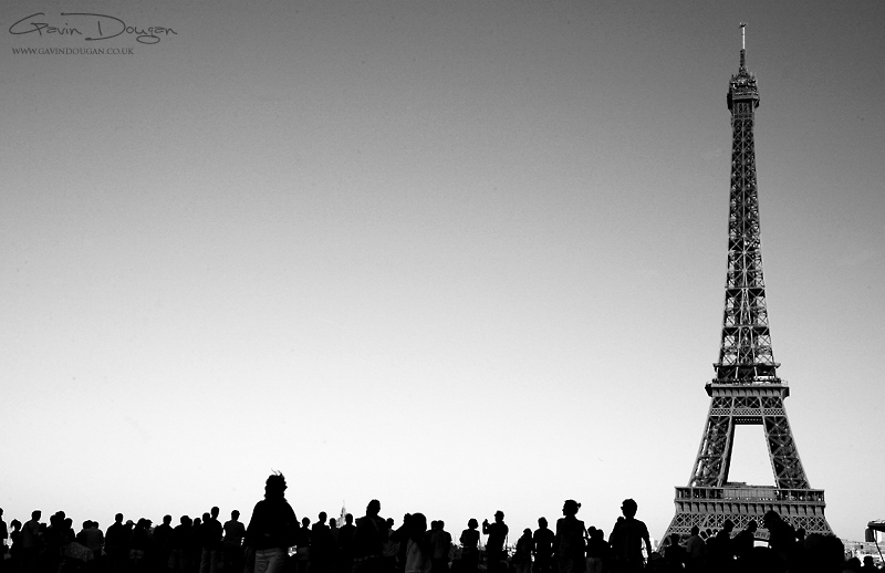 Paris BW by gdphotography