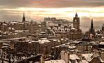 Edinburgh Winter by gdphotography
