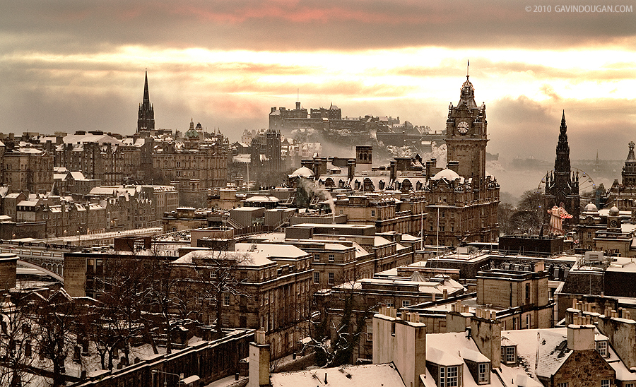 Edinburgh Winter by ~gdphotography