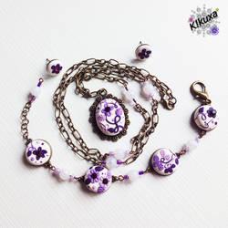 Conjunto Antique Purple