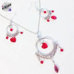 Conjunto Valentine Heart