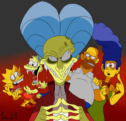 Bart Simpson's Dracula by Loko-Motion