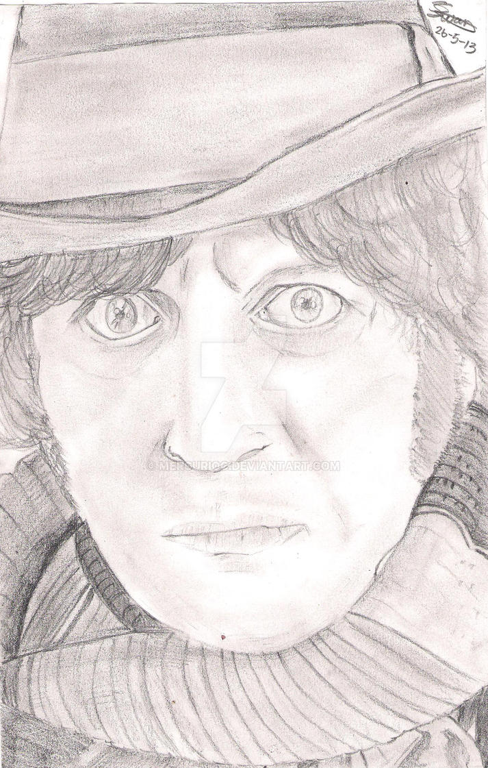 The Fourth Doctor by MercurioC