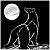 Polar Bear and moon icon by ForestFaerieQuean