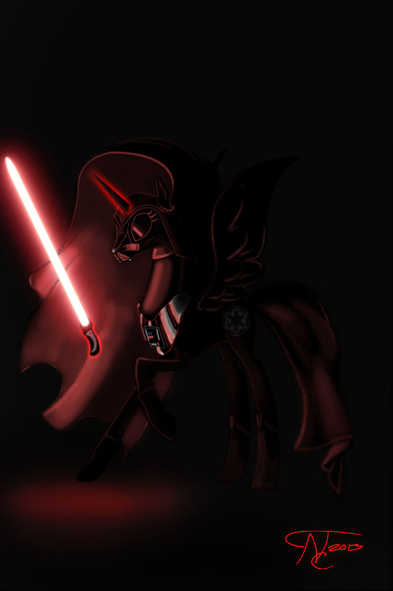 Pony Wars: Darth Nightmare Moon by GhostDragonSpirit