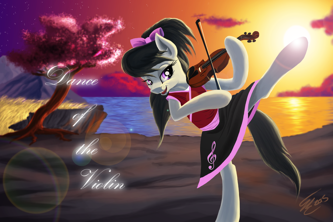 Pony art of the non diabetic variety.  - Page 26 Dance_of_the_violin_by_althyra_nex-d9bekvr