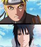 -Naruto and Sasuke-
