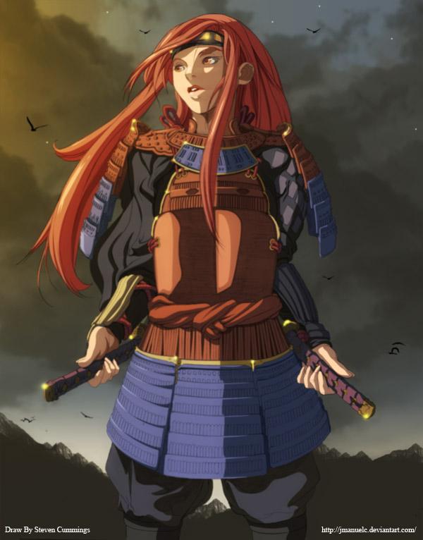 Samurai girl book shrink wrap