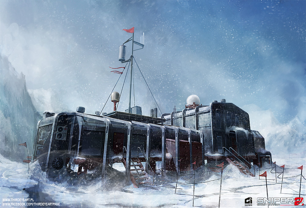[MJ 08] First Encounter Asault Recon Arctic_base___main_building_by_thirdeyepl-d63i9d1