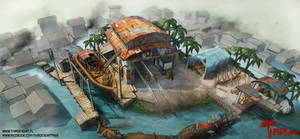 Dead Island : Riptide - Halai Village Safe Zone