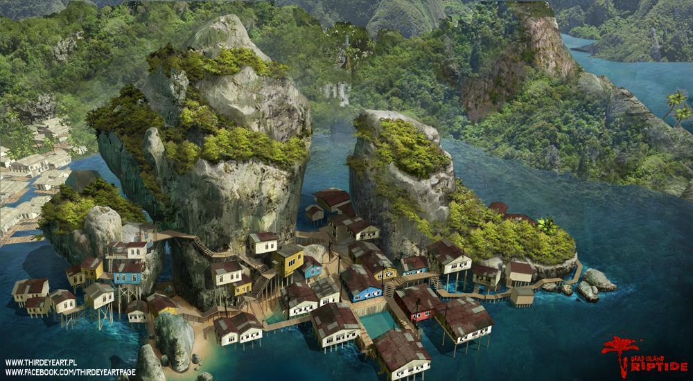 Dead Island : Riptide - Halai Village by thirdeyepl