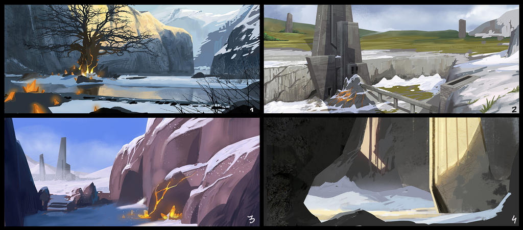 Enviro sketches... by thirdeyepl