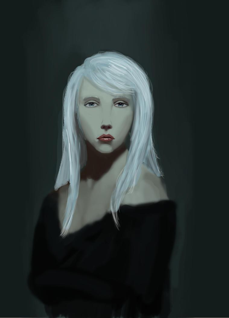 Digital Portrait by r4mp4g6