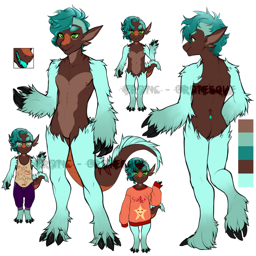 Sloth Dragon OTA {CLOSED} by Erotic-Grotesque