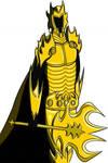 El Caballero de las Sombras de la Armadura Dorada