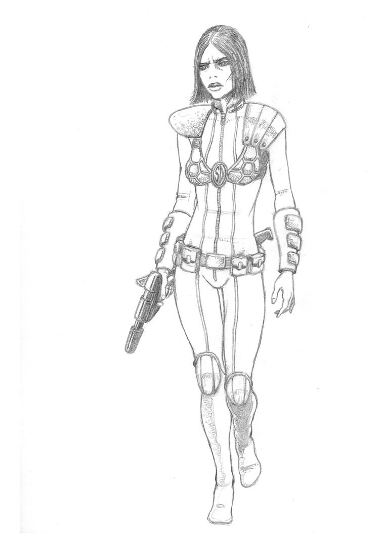 Redesign- Laura Gonzalez, concept drawing by FortriuPict