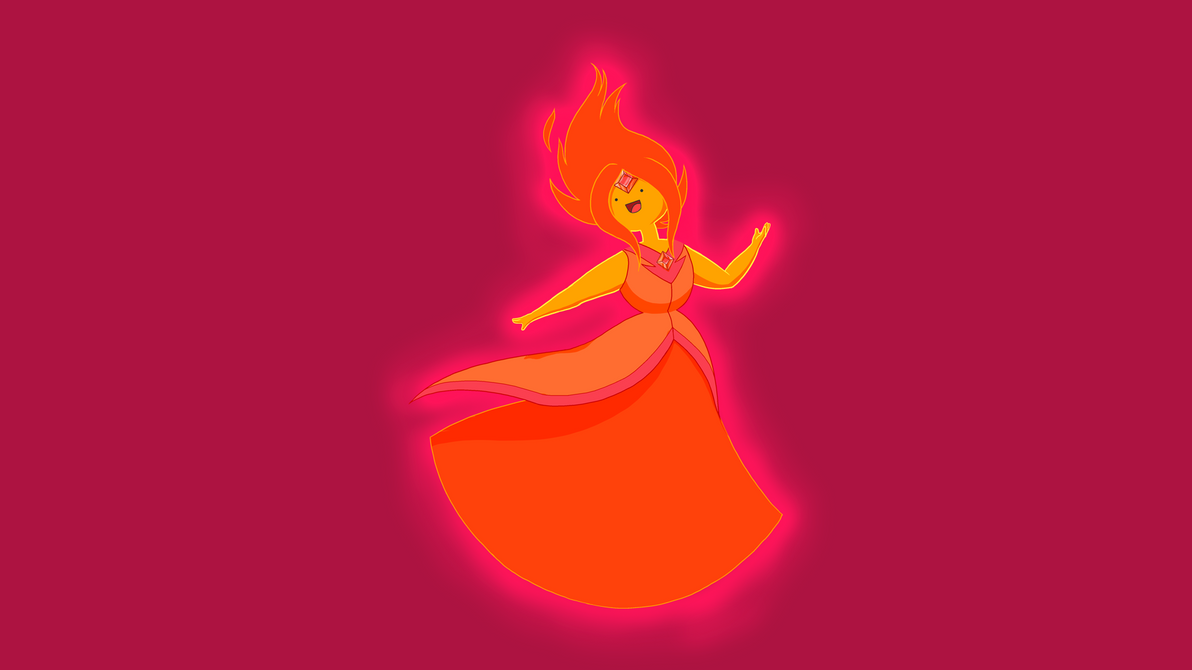 The all powerful flame princess by James-The-Brony1