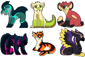 Pixel Adopts Auction by Kiraco-Ziieeria